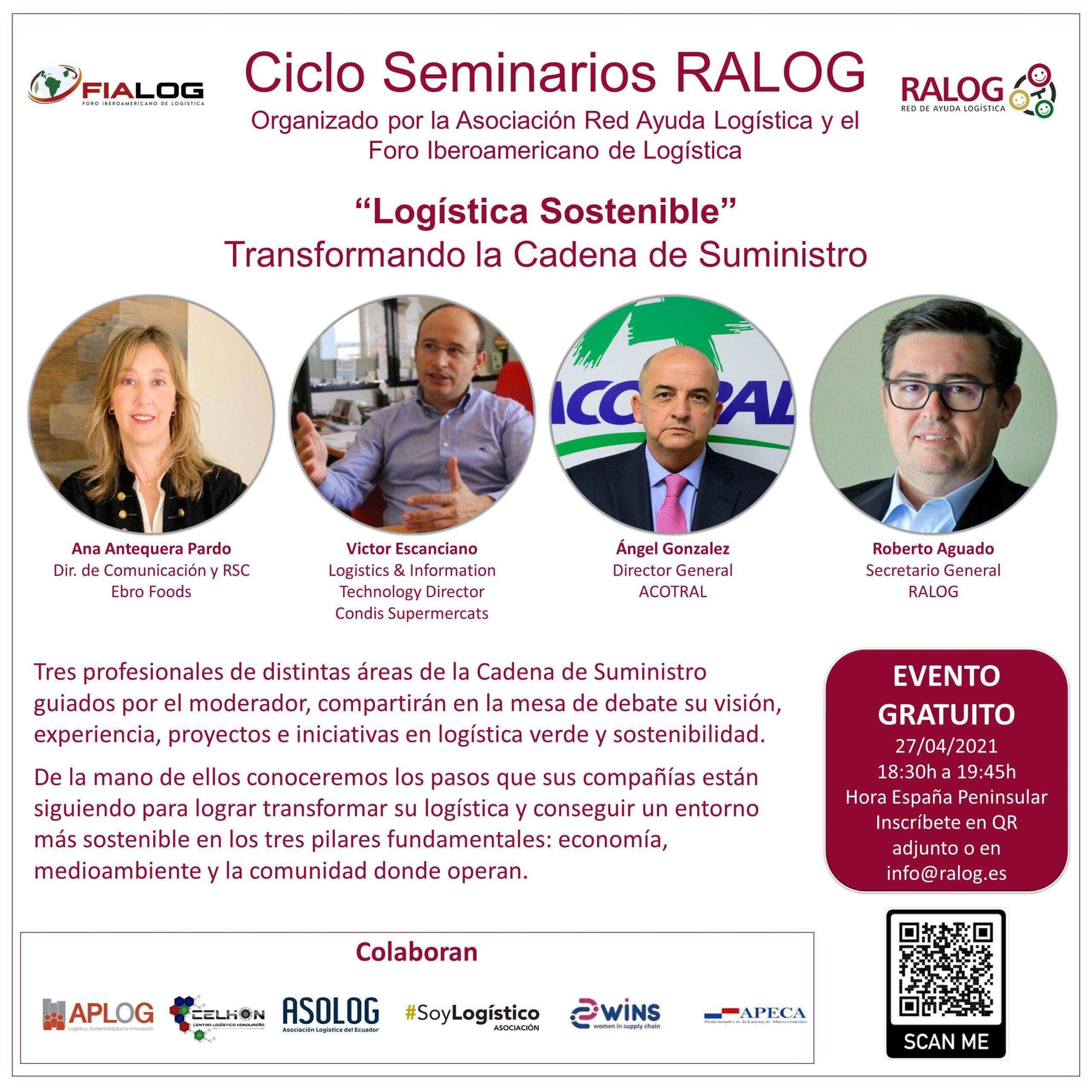webinar ralog logistica sostenible